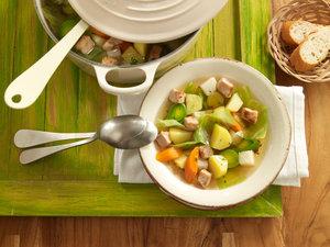 Bunter Gemüse-Fleischtopf